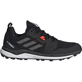 adidas TERREX Agravic Trail Running Shoes Women, core black/grey four/solar red